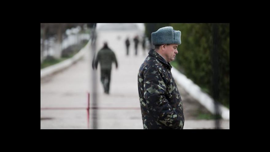 Video Reportér ČT Karas o obsazení Sevastopolu