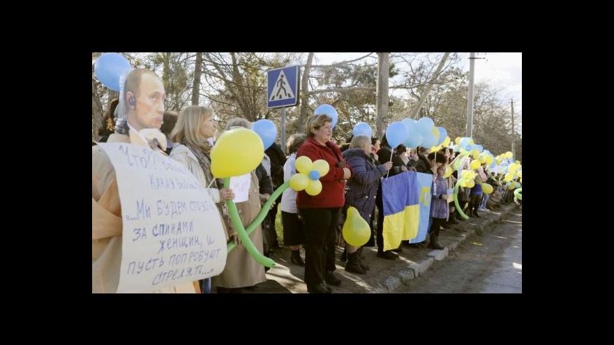 Video Barša: Těžko si představit, že by Rusové z Krymu odešli