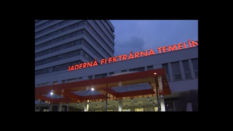 Video České jaderné elektrárny testovaly svou bezpečnost