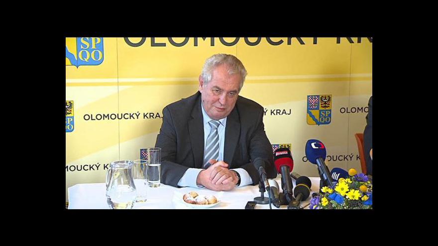 Video Speciál ČT: Rok od inaugurace Miloše Zemana