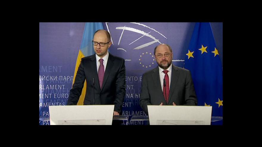 Video Jaceňuk: To není ukrajinsko-ruský konflikt, ale konflikt celé Evropy