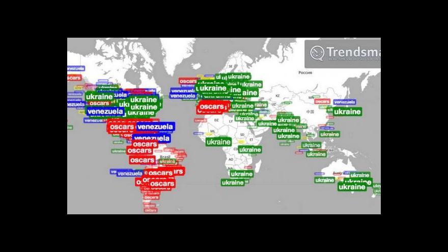 Video Krize na Ukrajině ovládla sociální sítě