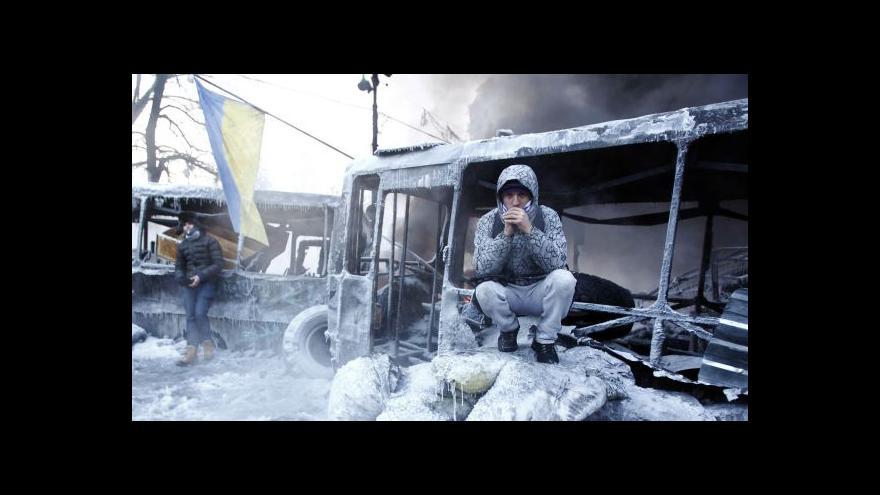 Video Češi pomáhají zraněným z Majdanu
