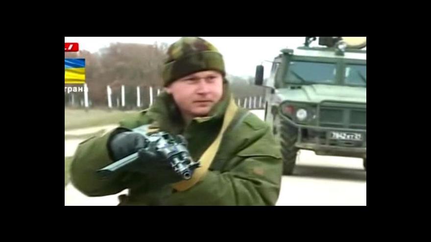 Video NO COMMENT: střelba před základnou na Krymu