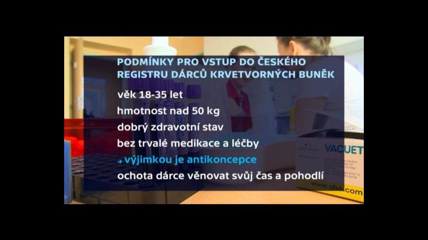 Video Reportáž: Z policistů dárci kostní dřeně
