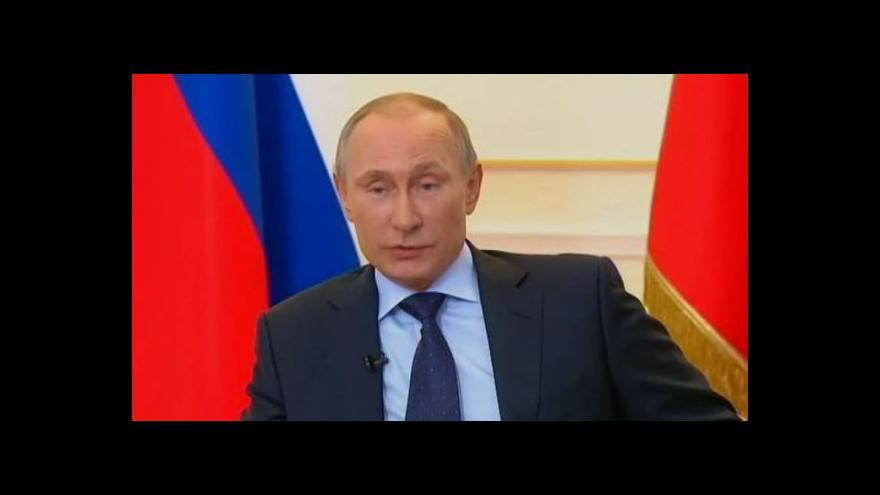 Video Putin: Necítíme potřebu použít sílu, ale Rusy na Ukrajině ochráníme