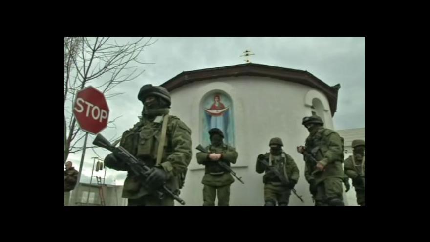 Video Na přítomnost ruských vojsk na Krymu zareagovaly Spojené státy