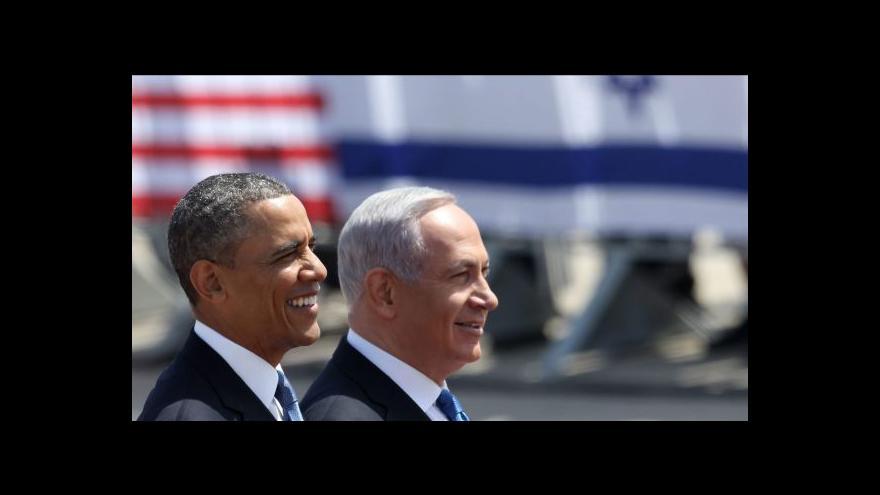 Video Obama: Mezi Izraelem a Palestinci nastal čas na kompromisy