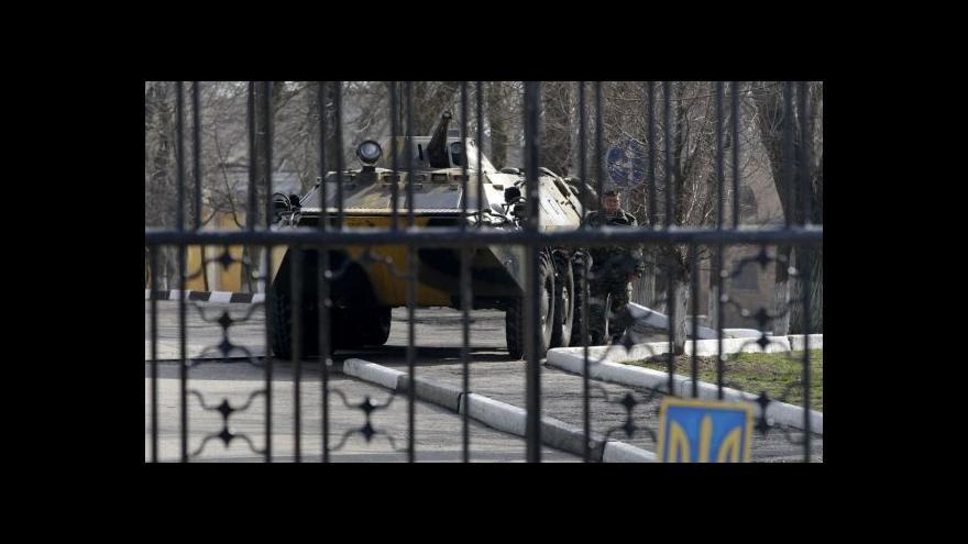 Video Štěch: Při řešení krymské krize je důležitá koordinace