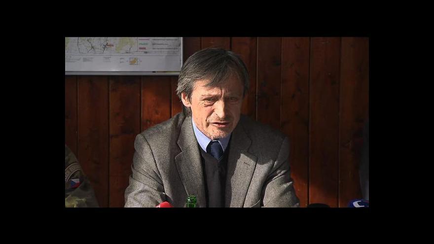 Video TK ministra obrany po jednání v Brdech