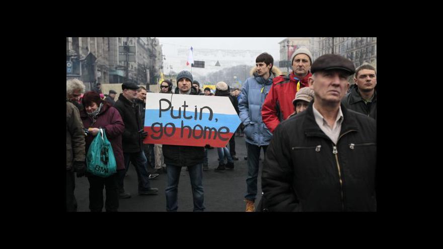 Video Petr Robejšek o reakci EU na postup Ruska na Ukrajině