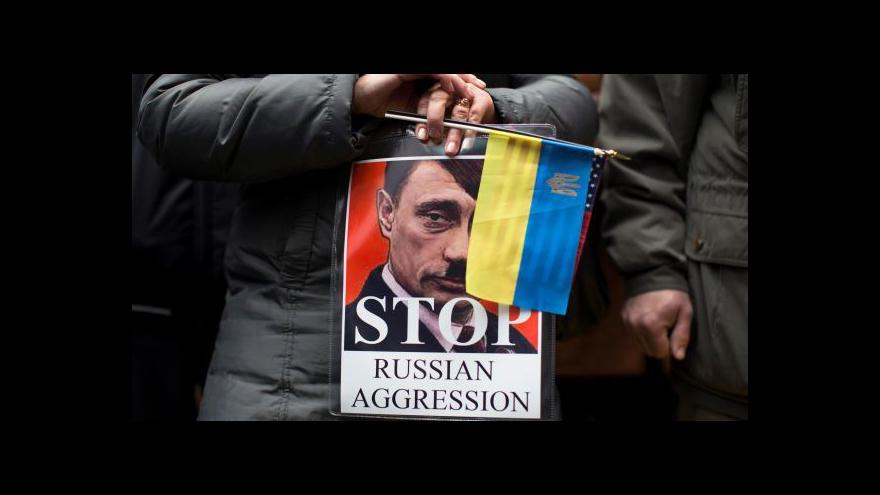 Video Ukrajina kvůli manévrům Moskvy žádá okolní státy o pomoc