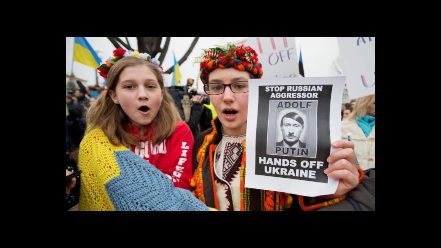 Video G7 odsoudila nasazení ruské armády na Krymu