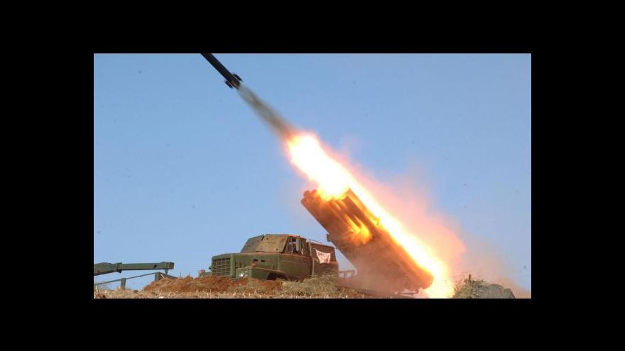 Video Severní Korea opět zkoušela rakety krátkého doletu