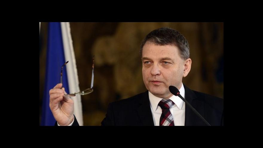 Video Lubomír Zaorálek v Otázkách Václava Moravce