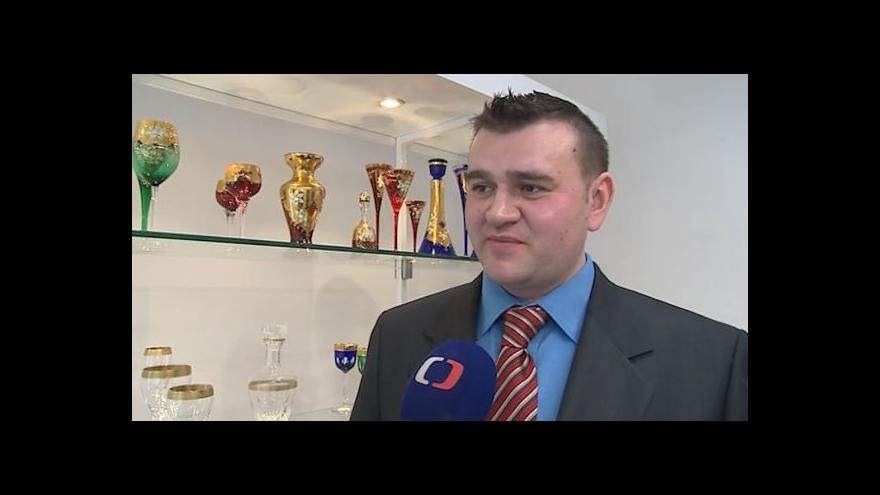 Video Hovoří ředitel skláren Marek Mikláš