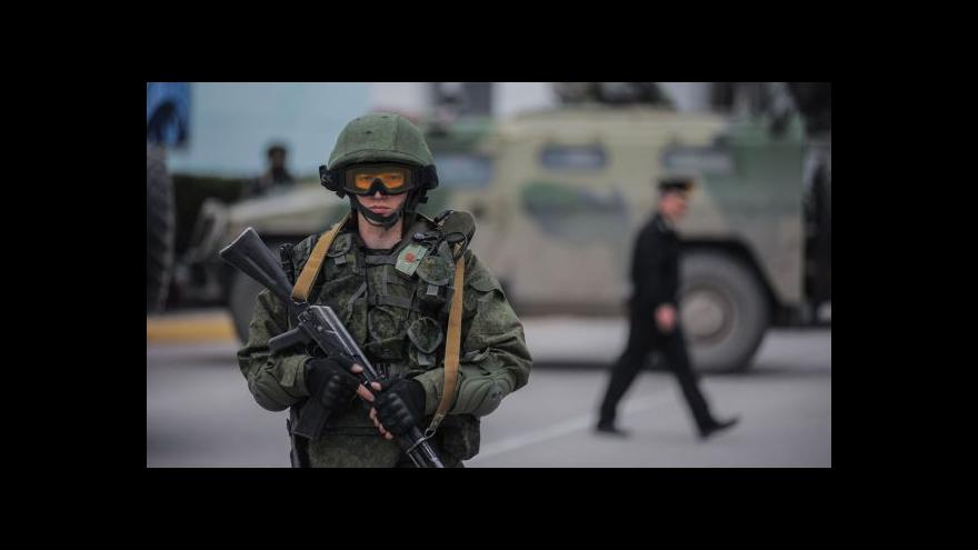 Video Události: Rusko schválilo nasazení armády na Krymu