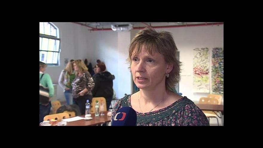 Video Hovoří matka postižených dětí Eva Sojková