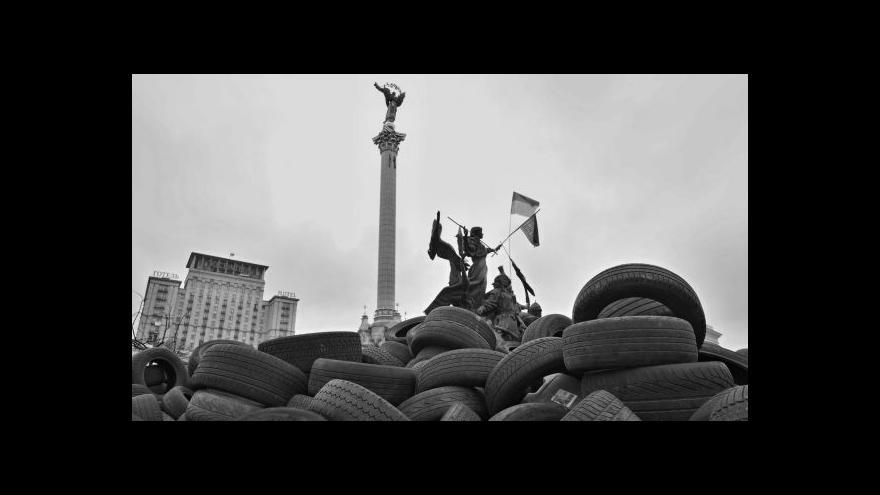 Video Eugen Kukla o fotoreportáži z Majdanu