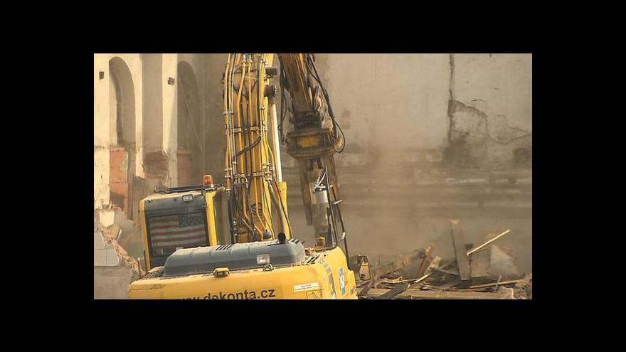 Video Luděk Jíra o demolici zbytku Rustonky