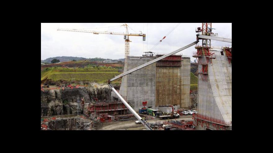 Video Panamský průplav dostaví Španělé