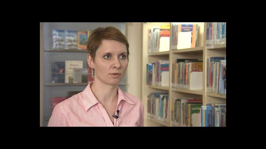 Video O projektu Druhá šance pro knihy hovoří Jana Kuncová