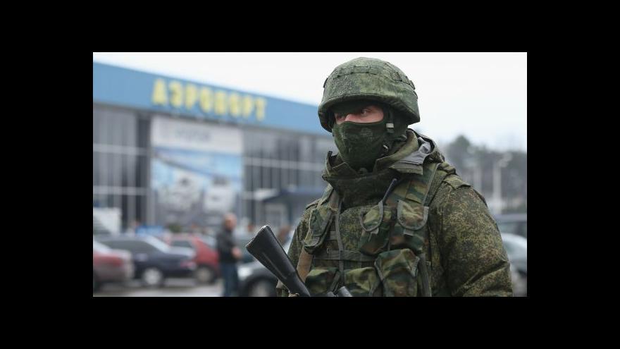 Video Zpravodaj ČT o situaci na Krymu