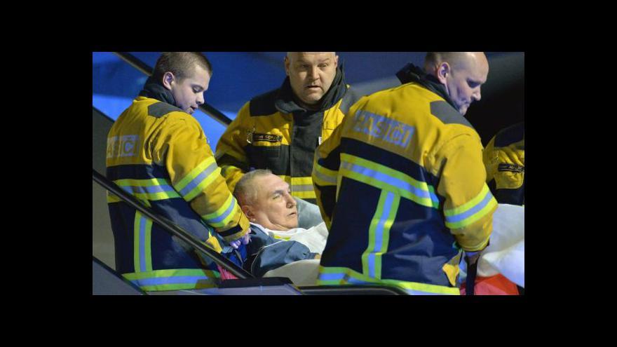 Video Do Česka přijeli zranění Ukrajinci