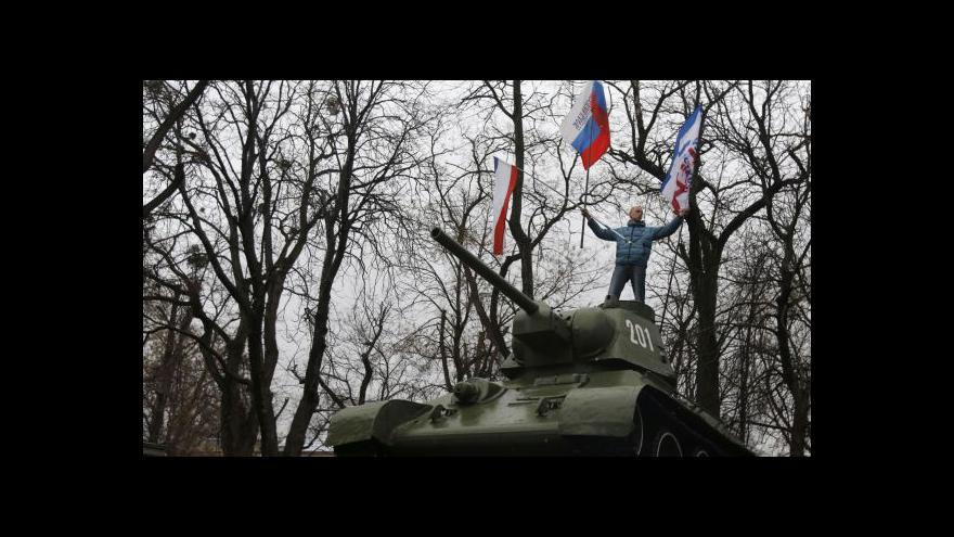 Video Nervozita na Krymu štěpí Ukrajinu i velmoci