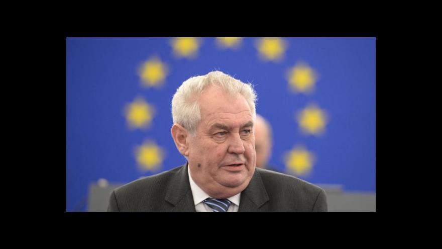 Video Zeman: Janukovyč nesplnil slib, tak se nesmí divit