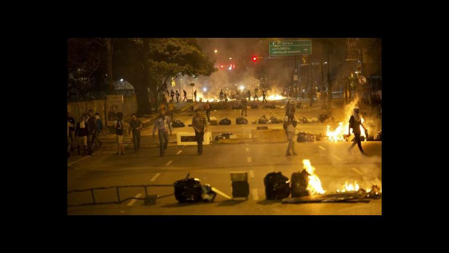 Video Počet obětí nepokojů ve Venezuele stoupá