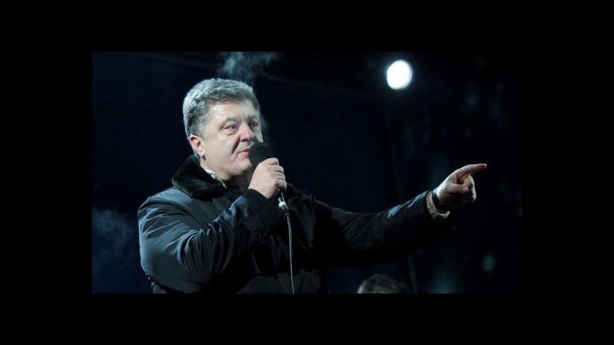 """Video """"Čokoládový král"""" kandidátem na ukrajinského prezidenta?"""