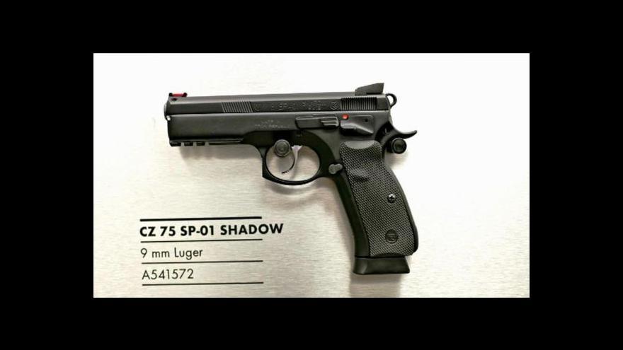 Video Česká zbrojovka má dodat tisíce pistolí do Egypta