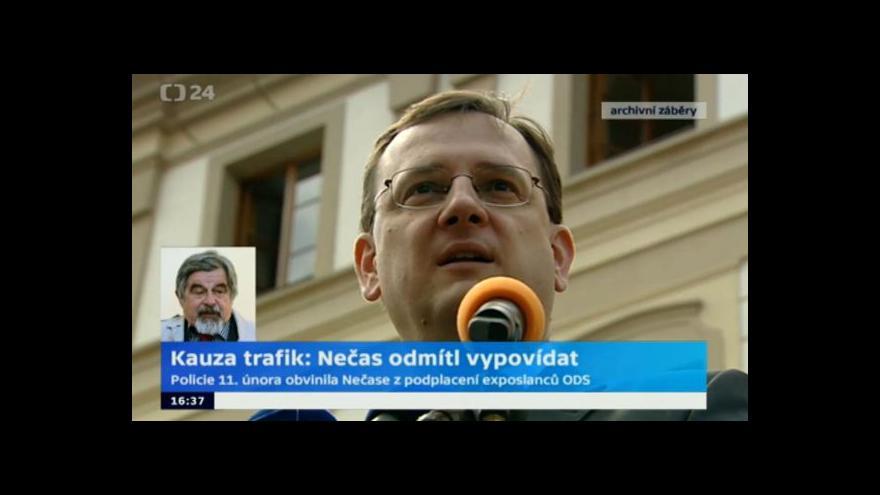 Video Advokát Lžičař: Nečas jen jednal, jak je tu zvykem dělat politiku