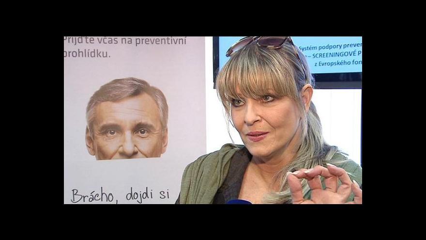 Video Ministerstvo spouští kampaň na podporu prevence rakoviny