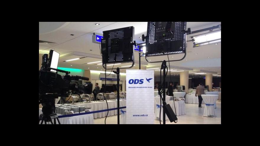 Video Brífink ODS k preferencím evropské politiky