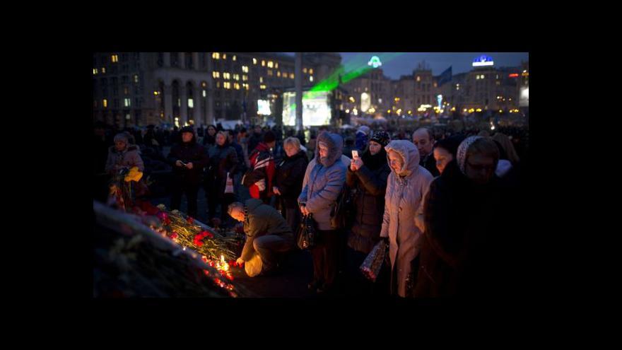 Video Ukrajinci chtějí Janukovyče pohnat před haagský tribunál