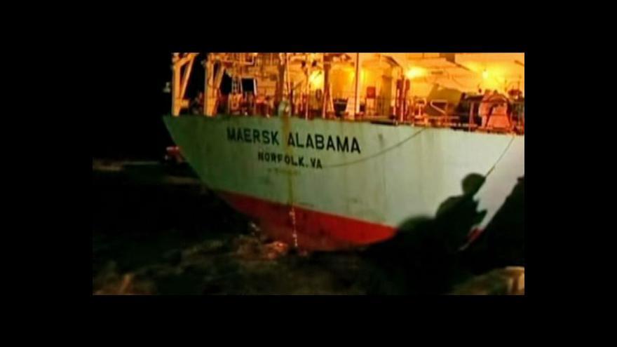 Video Martin Řezníček o prokletí lodi Maersk Alabama
