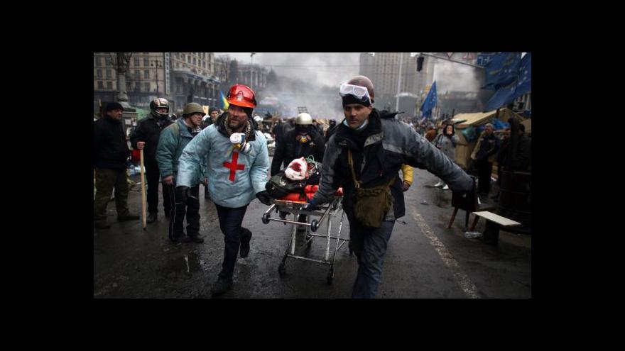Video Jak probíhalo čtvrteční krveprolití v centru Kyjeva?