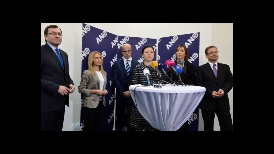 Video Hnutí ANO představuje kandidátku do evropských voleb