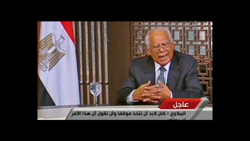 Video Egyptská vláda podala demisi