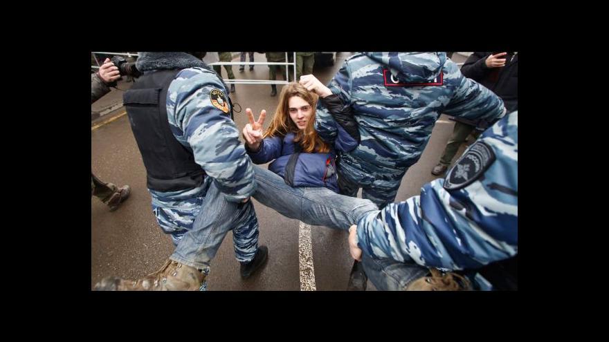 Video Soud poslal do vězení Putinovy oponenty