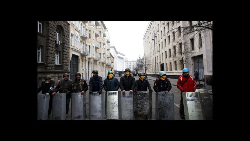 Video Ukrajinská policie vydala zatykač  na Janukovyče