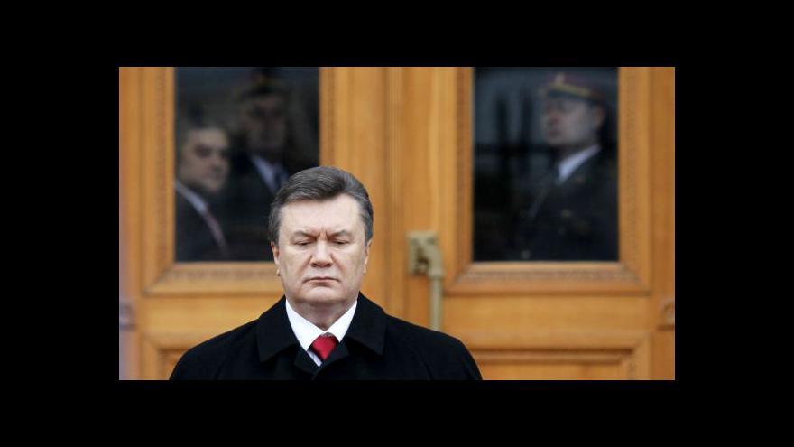 Video Janukovyč - z prezidenta desperátem