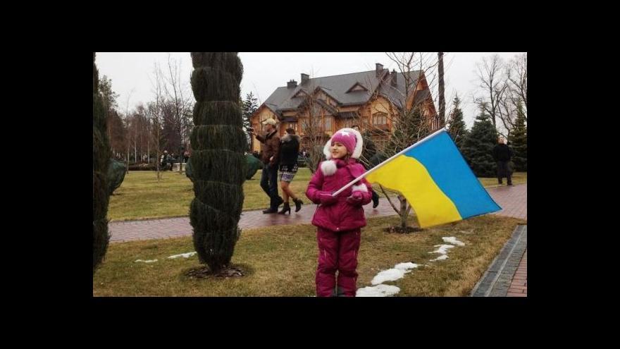 Video Tady bydlí car. Tajemství Janukovyčova sídla odhaleno