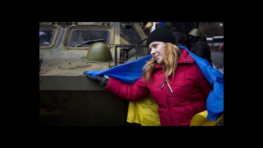 Video Reportáž: Češi soucítí s Ukrajinou
