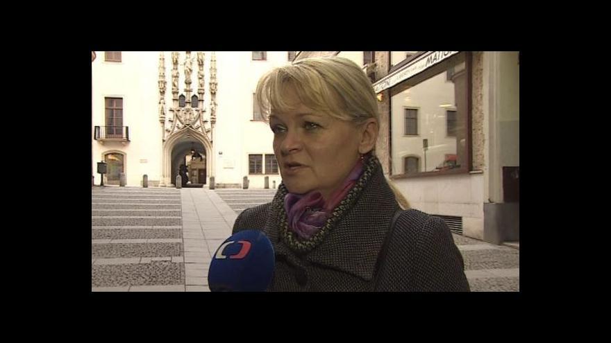 Video Marina Sedláčková z Asociace průvodců ČR o akci