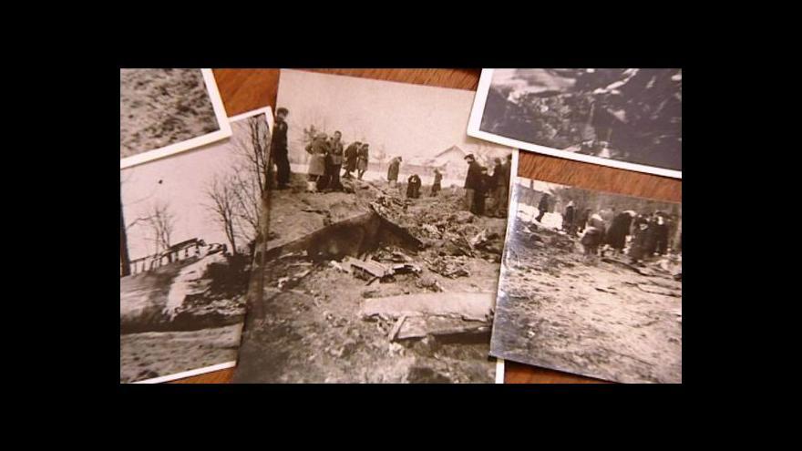 Video Výstava letounu sestřeleného za 2. světové války v Nepomuku