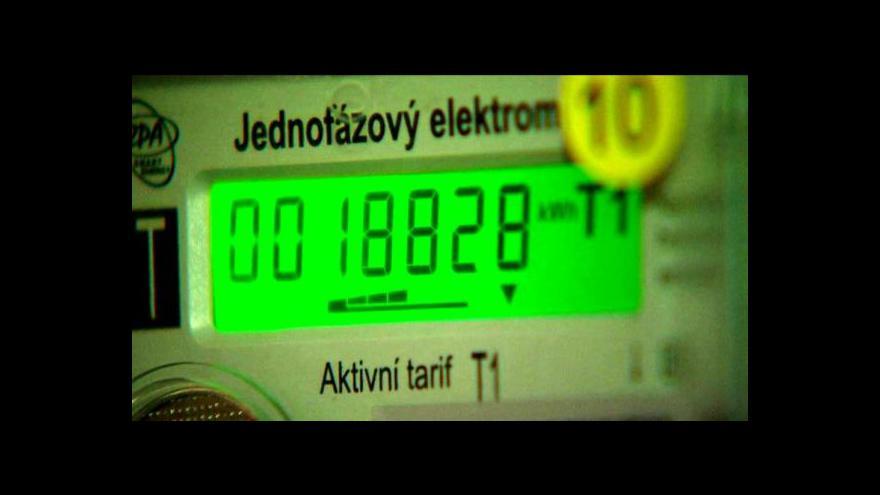 Video Události o černém odběru elektřiny