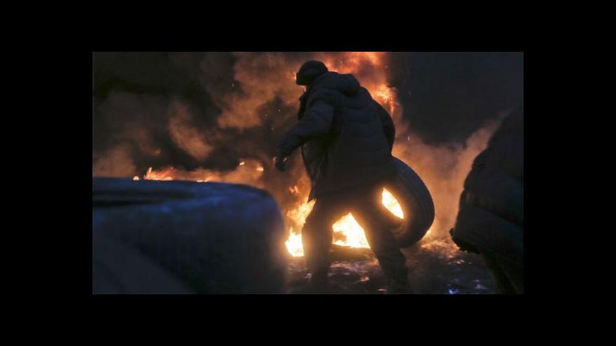 Video Pouliční válka v Kyjevě očima zpravodajů ČT - pozor, drastické záběry